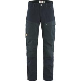 Fjällräven Midsummer Zip Off Trousers Men dark navy